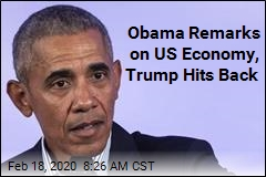 Obama Remarks on US Economy, Trump Hits Back