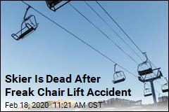 Skier Strangled by Coat in Chair Lift Mishap