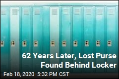 Teen Lost Her Purse in 1957; It Was Behind Locker All Along