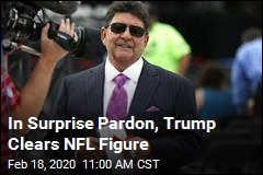 Trump Announces Surprise Pardon of NFL Figure