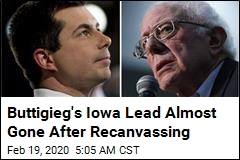 Sanders Campaign Wants Recount in Iowa