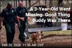 Well-Named Dog Protects Missing Child in Woods