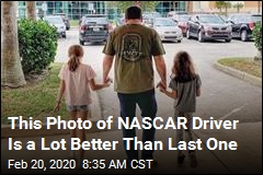 This Photo of NASCAR Driver Is a Lot Better Than Last One