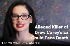 Alleged Killer of Drew Carey's Ex Could Face Death