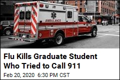 Flu Kills Graduate Student Who Tried to Call 911