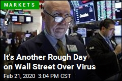 It's Another Rough Day on Wall Street Over Virus