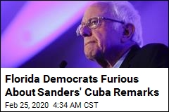 Florida Democrats Angered by Sanders' Cuba Remarks