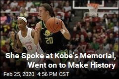 She Spoke at Kobe's Memorial, Went on to Make History