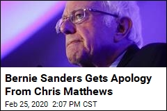 Bernie Sanders Gets Apology From Chris Matthews