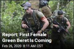 Report: First Female Green Beret Is Coming