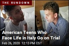 American Teens Who Face Life in Italy Go on Trial