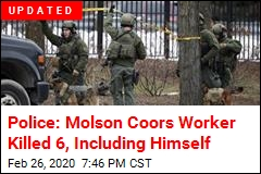 7 Killed in Shooting Rampage at Molson Coors Headquarters