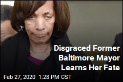 Disgraced Former Baltimore Mayor Learns Her Fate