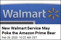New Walmart Service May Poke the Amazon Prime Bear