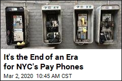 'Long Goodbye' to NYC's Pay Phones Just Sped Up
