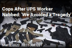 Cops: After Threat, UPS Worker Found With This