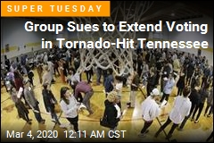 Group Sues to Extend Voting in Tornado-Hit Tennessee