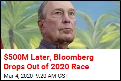 Bloomberg Drops Out, Endorses Biden