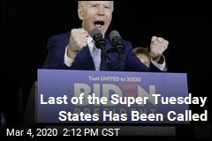 Last of the Super Tuesday States Has Been Called