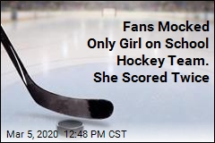 Only Girl on Varsity Hockey Team Taunted at Game