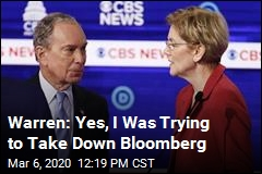 Warren Met One Goal: to Take Down Bloomberg
