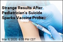 Vaccine Probe After Pediatrician's Suicide Yields Odd Results