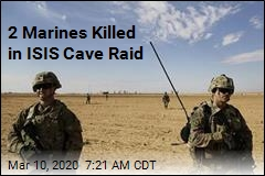 2 Marines Killed in Raid on ISIS Cave