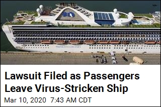 Couple Stuck on Virus-Stricken Cruise Ship Files Lawsuit