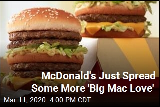 Really Hungry? Double Big Mac Is Here