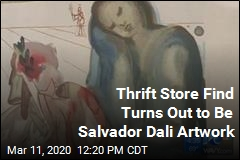 Salvador Dali Woodcarving Turns Up at Thrift Store
