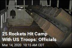 25 Rockets Hit Camp With US Troops: Officials