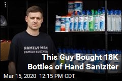 This Guy Has Nearly 18K Bottles of Hand Sanitizer