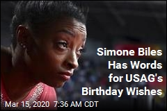 Simone Biles Is Not Impressed by USA Gymnastics' Birthday Wishes