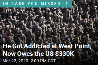 He Got Addicted at West Point, Now Owes the US $330K