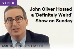 John Oliver on Virus: 'From Abstraction to Very Real Threat'
