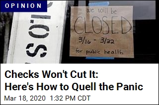 Checks Won't Cut It: Here's How to Quell the Panic