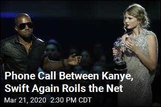 Phone Call Between Kanye, Swift Again Roils the Net