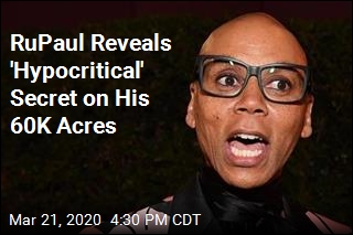 RuPaul Corrects NPR Bigtime— and Reveals Secret on His Land