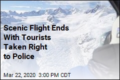 Scenic Flight Ends With Tourists Taken Right to Police