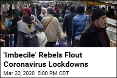 What Coronavirus? Rebels Still Flout the Lockdowns