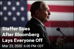 Fallout From Bloomberg's Failed Campaign: a Lawsuit?