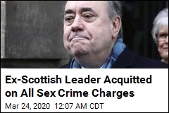 Ex-Scottish Leader Acquitted on All Sex Crime Charges