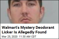 Walmart's Mystery Deodorant Licker Is Allegedly Found