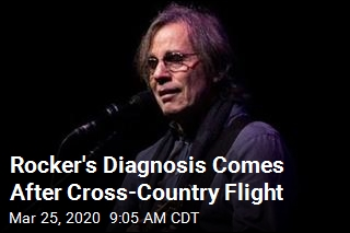 Rocker's Diagnosis Comes After Cross-Country Flight