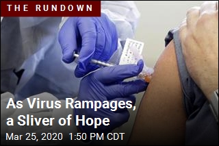 As Virus Rampages, a Sliver of Hope