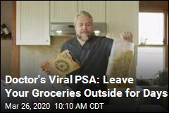 Doctor's Viral PSA: Leave Your Groceries Outside for Days