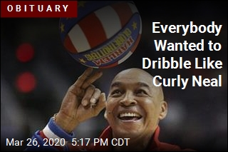 Globetrotters' Curly Neal Took Job Seriously