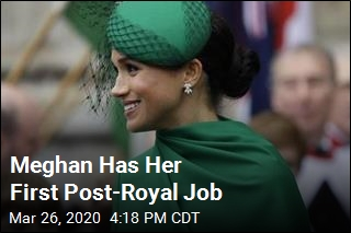 Meghan Has Her First Post-Royal Job