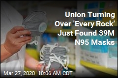 Union Uses 'Elbow Grease' to Rustle Up 39M N95 Masks