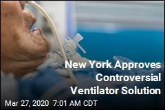 New York Approves Controversial Ventilator Solution